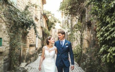 / Mariage chic à Castillon-du-Gard